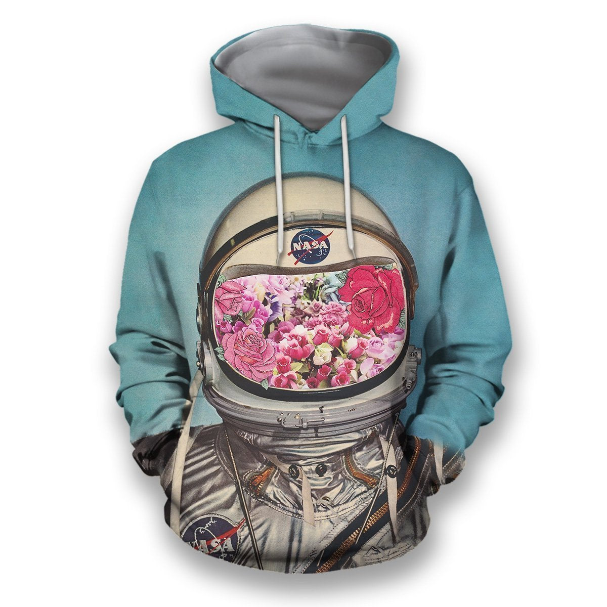 3D all over print astronaut outerspace-Apparel-HbArts-Hoodies-S-Vibe Cosy™
