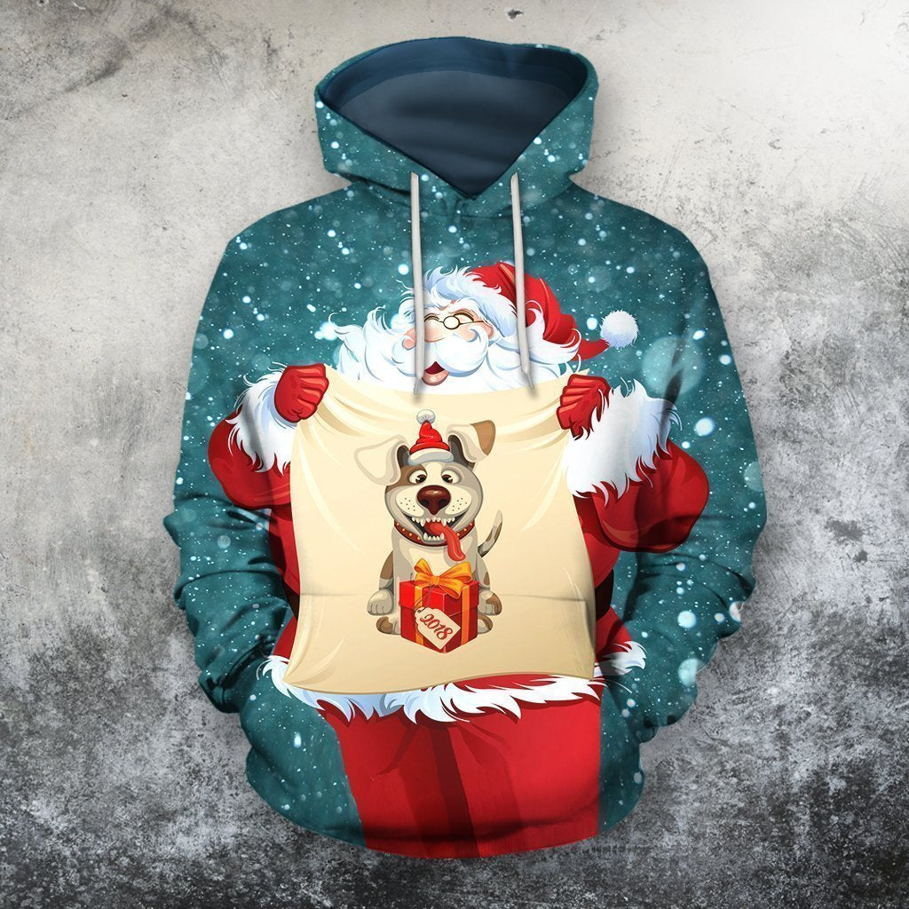 3D All Over Printed Santa Ugly Christmas Shirts and Shorts-Apparel-Phaethon-Hoodie-S-Vibe Cosy™
