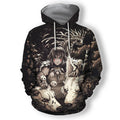 3D All Over Print Bird's Eye Fine Hoodie-Apparel-HD09-Hoodie-S-Vibe Cosy™