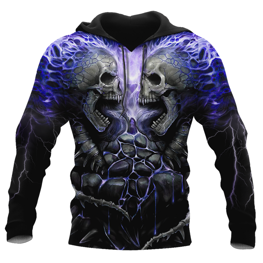 February Guy Skull 3D All Over Printed Shirts Pi24102002ST