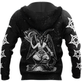 The Satanic Baphomet 3D  All Over Printed Hoodie MP853 - Amaze Style™-Apparel