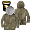3D All Over Printed WW2 Paratroopers Uniform-Apparel-HP Arts-Hoodie-YOUTH XS-Vibe Cosy™