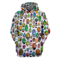 3D All Over Print Insect Hoodie-Apparel-6teenth World-Hoodie-S-Vibe Cosy™