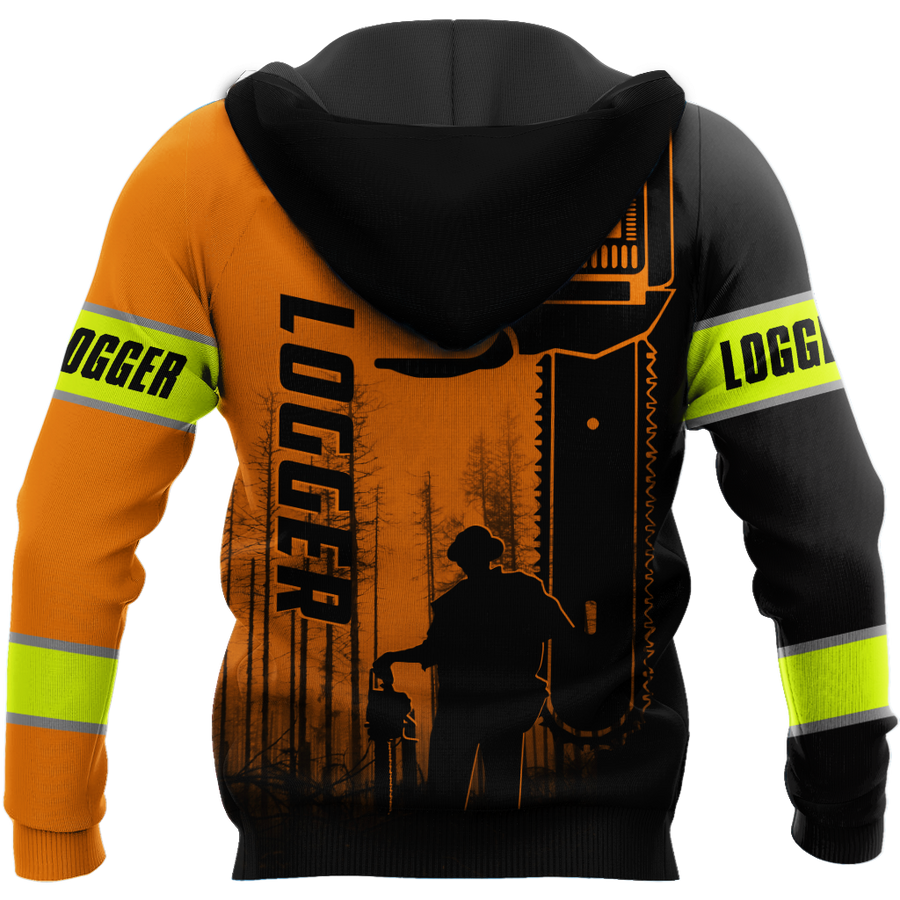 Premium Logger Man Orange Unisex Shirts DL20103205