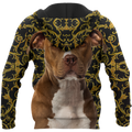 Pitbull 3d hoodie shirt for men and women HAC280704-Apparel-HG-Zip hoodie-S-Vibe Cosy™