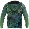 Maori hei matau paua shell 3d all over printed shirt and short for man and women-Apparel-PL8386-Hoodie-S-Vibe Cosy™