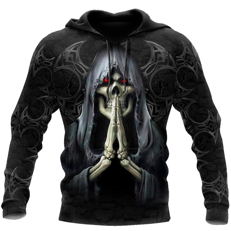 September Guy Skull 3D All Over Printed Shirts JJW26102008ST