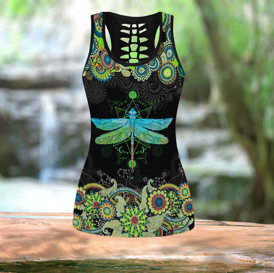 Beautiful Dragonfly Tank Top JJ040401-Apparel-TA-S-Vibe Cosy™