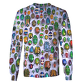 3D All Over Print Insect Hoodie-Apparel-6teenth World-Sweatshirt-S-Vibe Cosy™