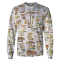 3D All Over Print Champignons Hoodie-Apparel-6teenth World-Sweatshirt-S-Vibe Cosy™