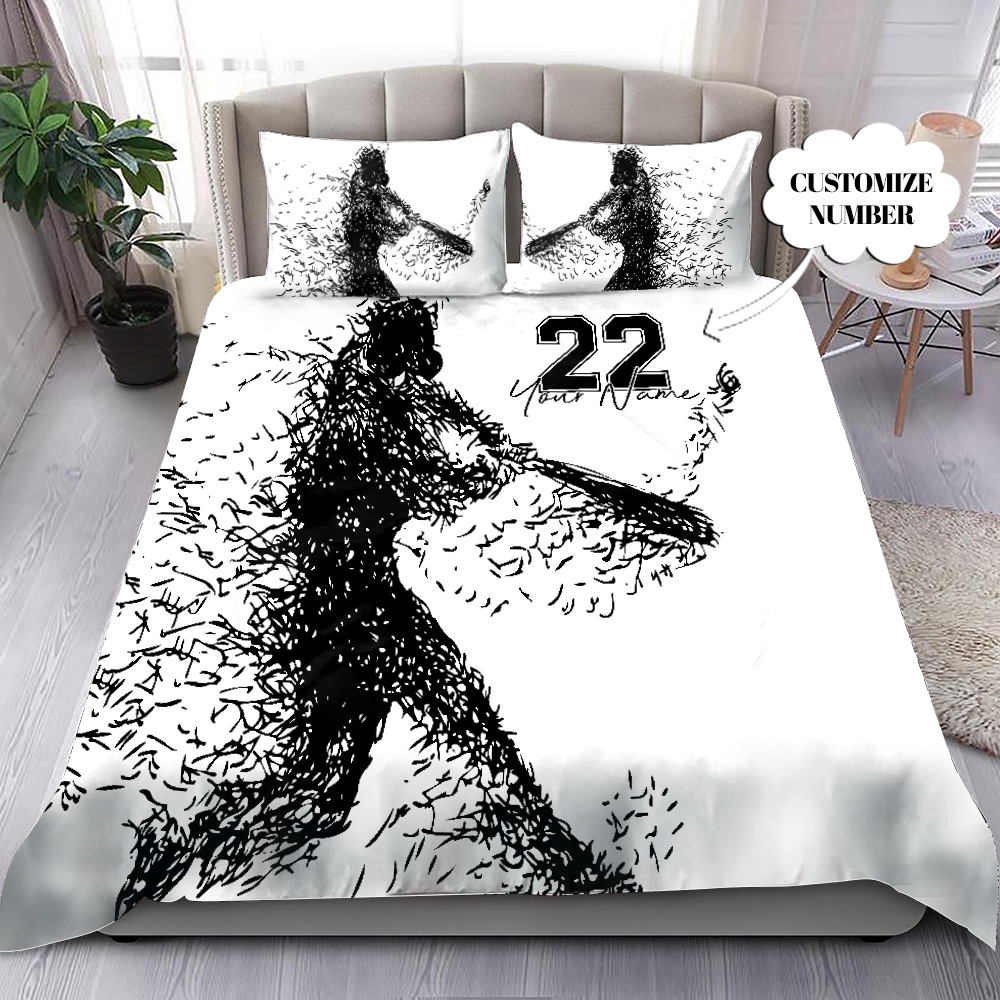 Basketball Love Custom Bedding Set with Your Name MH2507203-Quilt-SUN-King-Vibe Cosy™