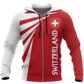 Switzerland Hoodie Map - Tornado-Apparel-Phaethon-Zip-S-Vibe Cosy™