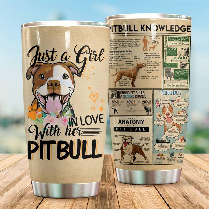 Pitbull Knowledge – Tumbler 20oz TA032803-TA-Vibe Cosy™