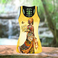Beautiful African Girl Legging & Tank top-ML-Apparel-ML-No Legging-S-Vibe Cosy™