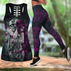Skull Tattoo Art Combo Tank + Legging HAC240602-Apparel-NM-S-S-Vibe Cosy™