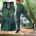 Aotearoa Maori New zealand tank top & leggings outfit for women-Apparel-PL8386-S-S-Vibe Cosy™