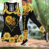Dragonfies-You Are My Sunshine  Combo Legging + Tank Top JJW29082004