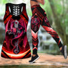 Red Dragon Tattoo Art Combo Tank + Legging HAC070507-Apparel-NM-S-S-Vibe Cosy™