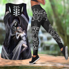 Skull Tattoo Art Combo Tank + Legging HAC240601-Apparel-NM-S-S-Vibe Cosy™