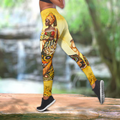 Beautiful African Girl Legging & Tank top-ML-Apparel-ML-S-No Tank-Vibe Cosy™