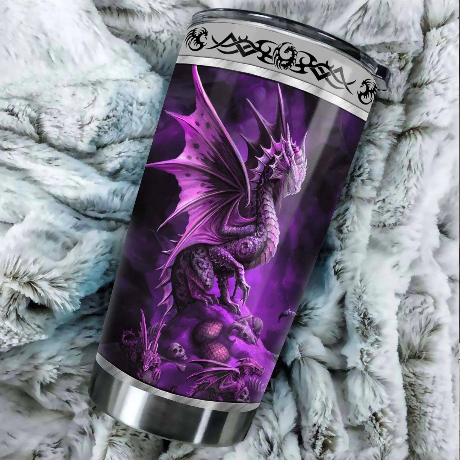 Dragon & Dungeon Tattoo Tumbler 20 Oz Pi020330-NM-Vibe Cosy™
