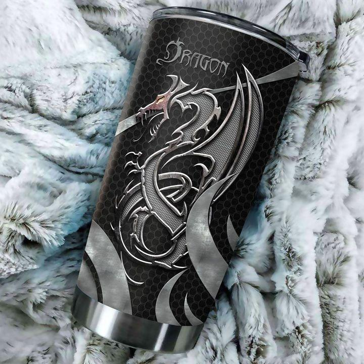 Dragon & Dungeon Tattoo Tumbler 20 Oz HAC020367-Tumbler-NM-Vibe Cosy™