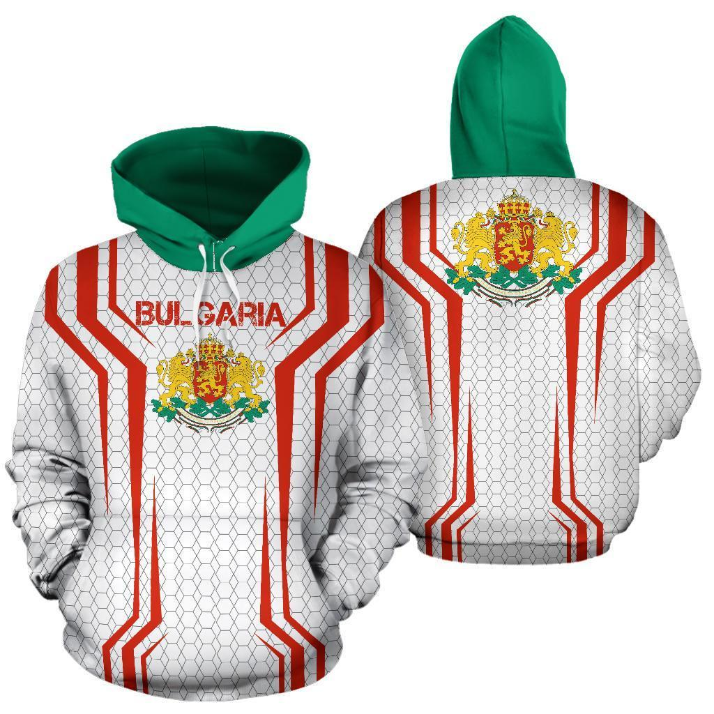 Bulgaria Sport Edition Pullover Hoodie-Apparel-NNK-Hoodie-S-Vibe Cosy™