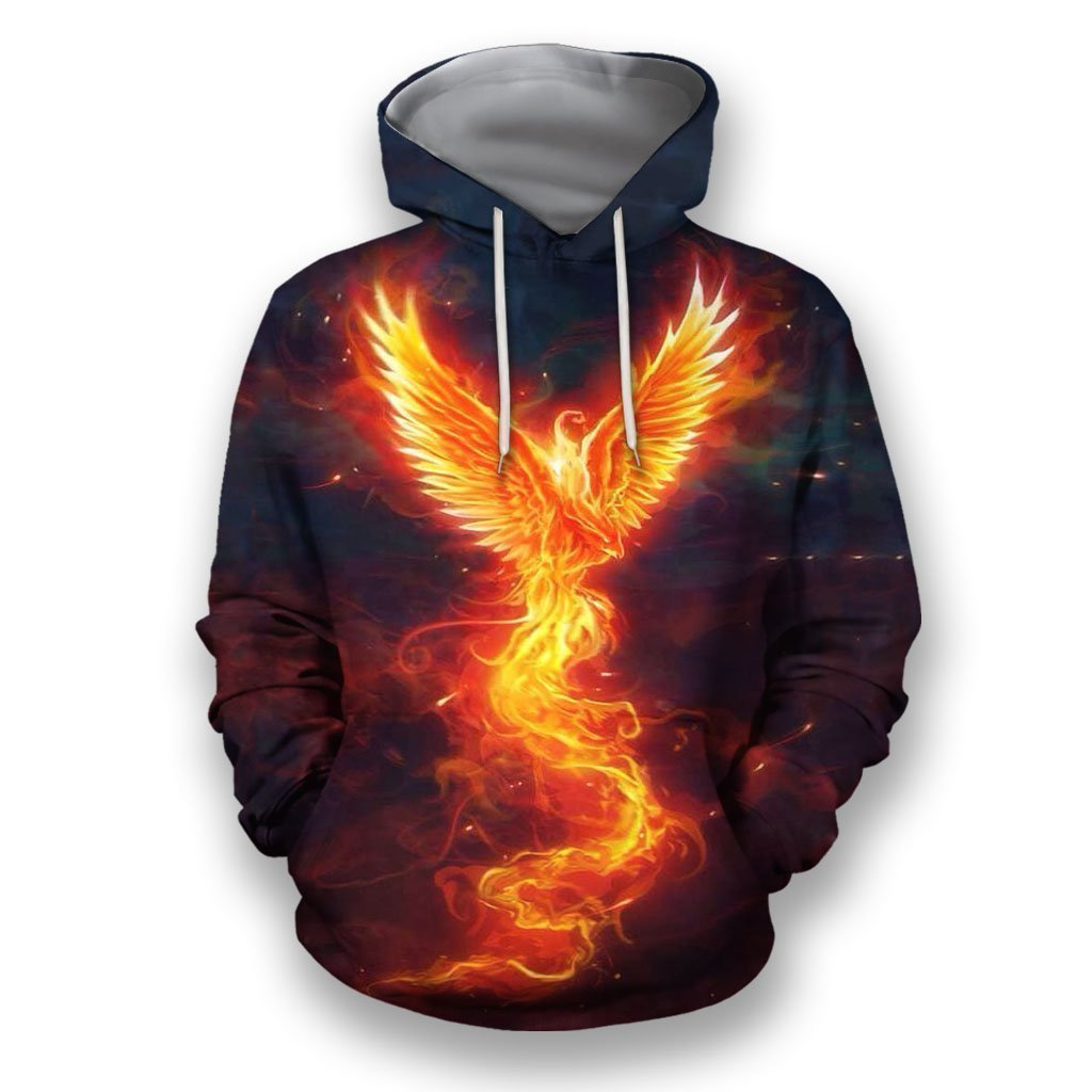 3D All Over Print Amazing Phoenix-Apparel-NTT-Hoodie-S-Vibe Cosy™