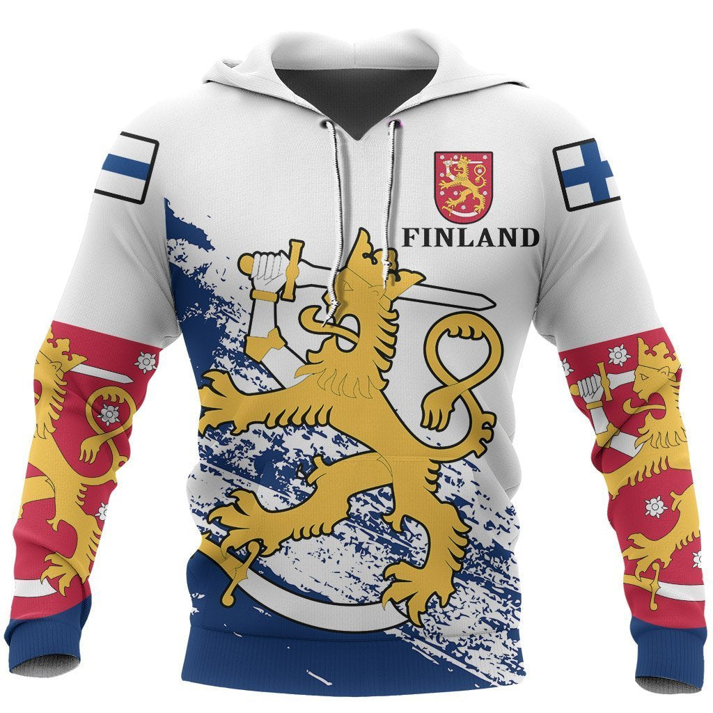 (Suomi) Finland Special Hoodie NVD1251-Apparel-Dung Van-Hoodie-S-Vibe Cosy™