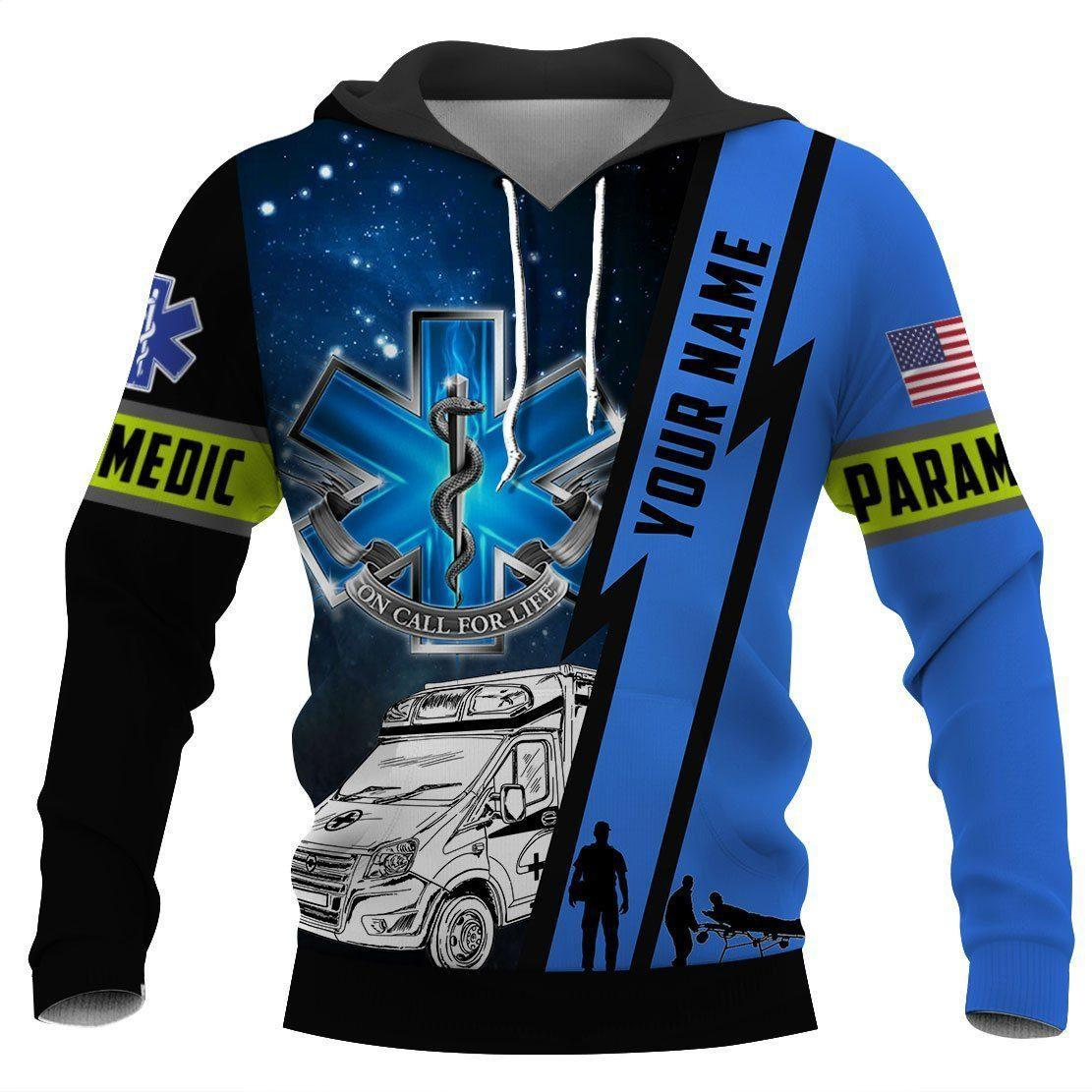 Paramedic 3d hoodie shirt for men and women HG33004-Apparel-HG-Hoodie-S-Vibe Cosy™