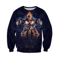 3D ALL OVER PRINTED SKULL PL287-Apparel-PL8386-Sweatshirt-S-Vibe Cosy™
