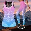 Chakra Yoga Combo Tank + Legging Limited Pi020401-Apparel-NM-S-S-Vibe Cosy™
