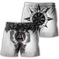 All Over Printed Viking Tattoo Shirts-Apparel-HP Arts-Short-S-Vibe Cosy™