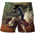3D All Over Print Professional Bull Riders 3-Apparel-PHLong-Short-S-Vibe Cosy™