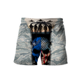 US Air Force skull 3d all over printed for man and women Pi270203 PL-Apparel-PL8386-SHORTS-S-Vibe Cosy™