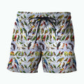 3D All Over Printed Parrots Shirts-Apparel-6teenth World-SHORTS-S-Vibe Cosy™