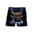 December Girl I Can Do All Things Through Christ Who Give Me Strength  3D All Over Print Shirts DQB08122009S