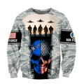 US Air Force skull 3d all over printed for man and women Pi270203 PL-Apparel-PL8386-Sweatshirt-S-Vibe Cosy™