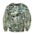 3D All Over Printed Camo Duck Hunting Shirts-Apparel-HbArts-Sweatshirt-S-Vibe Cosy™