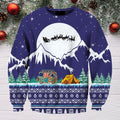 3D All Over Print Camping Christmas Hoodie-Apparel-NTH-Sweat Shirt-S-Vibe Cosy™