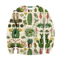 3D All Over Print Cacti Shirt-Apparel-NTH-Sweat Shirt-S-Vibe Cosy™