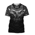 Eagle Tatoo Hoodie 3D All Over Printed Shirts For Men Pi25072002-LAM-Apparel-LAM-T-Shirts-S-Vibe Cosy™