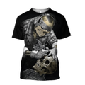 Tattoo Is My Life And Skull Is My Love PL213-Apparel-PL8386-T- Shirt-S-Vibe Cosy™