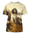3D All Over Print Hunting Dog Duck Hoodie-Apparel-Phaethon-T-Shirt-S-Vibe Cosy™