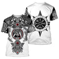 All Over Printed Viking Tattoo Shirts-Apparel-HP Arts-T-Shirt-S-Vibe Cosy™