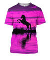 3D All Over Print Silhouette Hourse Shirts-Apparel-Phaethon-T-Shirt-S-Vibe Cosy™
