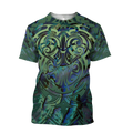 Maori hei matau paua shell 3d all over printed shirt and short for man and women-Apparel-PL8386-T-shirt-S-Vibe Cosy™