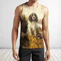 3D All Over Print Hunting Dog Duck Hoodie-Apparel-Phaethon-Tank Top-S-Vibe Cosy™
