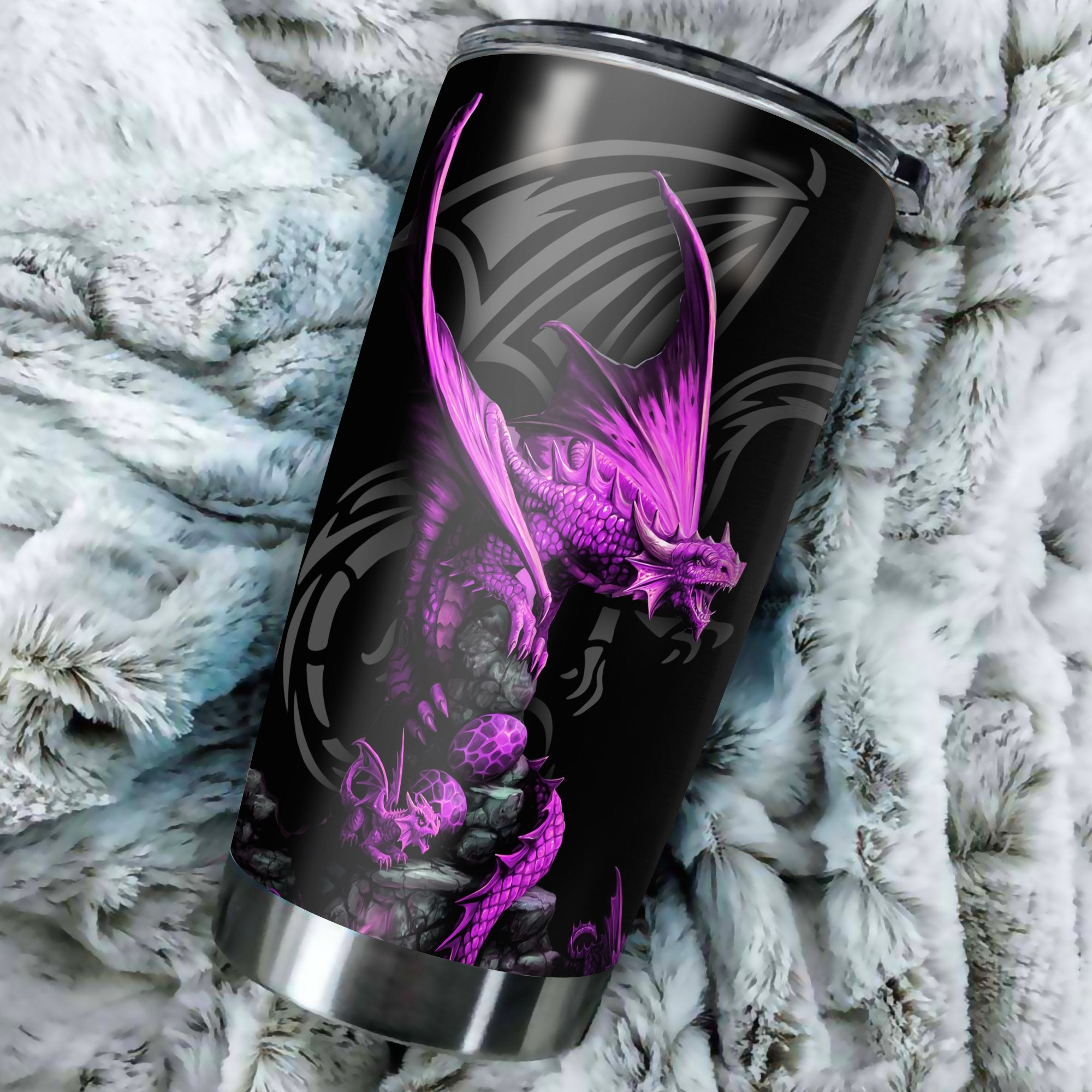 Dragon & Dungeon Tattoo Tumbler 20 Oz HAC020359-Tumbler-NM-Vibe Cosy™
