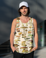 3D All Over Print Champignons Hoodie-Apparel-6teenth World-Tank Top-S-Vibe Cosy™